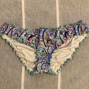 Cheeky ruffle Victoria's Secret bikini bottoms